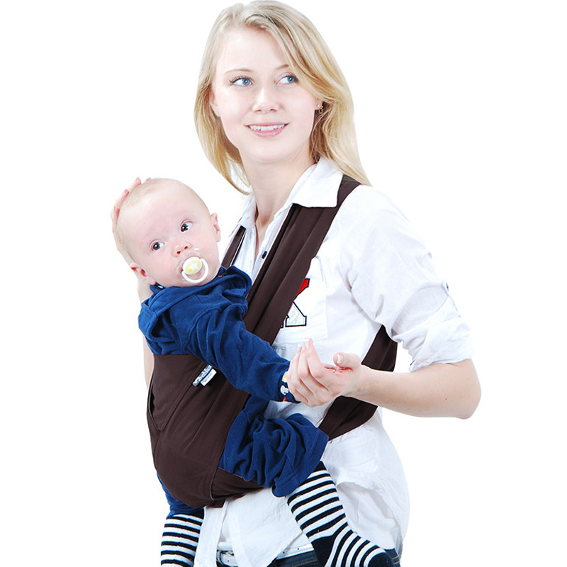 Best Infant Baby Carrier Adjustable Newborn Sling Multifunction Breathable Backpacks Wrap Rider Multicolor