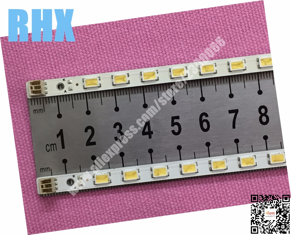 2piece/lot FOR  SAMSUNG LJ64-02875A & LJ64-02876A LED STRIPS  SONY KDL55EX720 AND OTHER MODEL  1piece=60LED 619MM