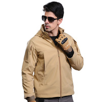 Brand Jacket V5 0 Military Tactical Men Jacket Lurker Shark Skin Soft Shell Waterproof Windproof Men