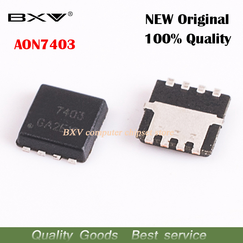 10pcs/lot AON7403 AO7403 7403 QFN MOSFET New