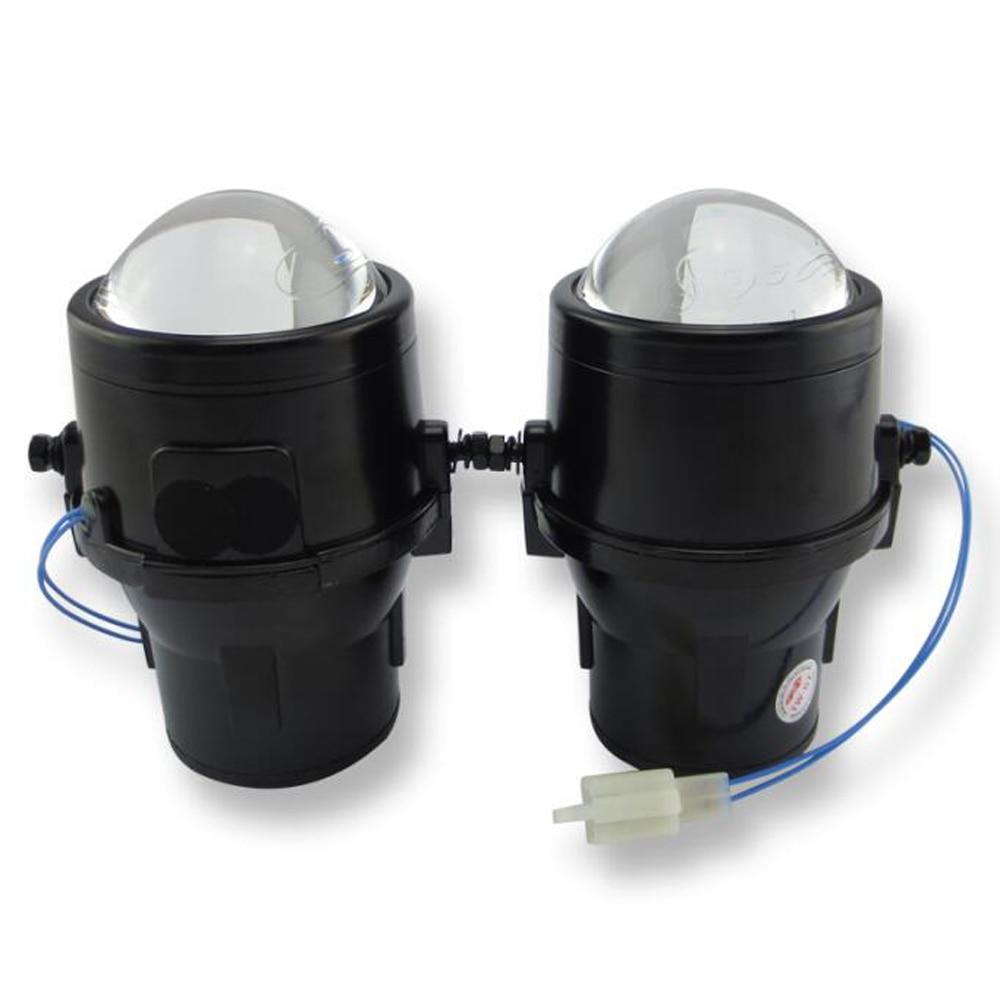 Front bumper headlight bifocal lens sport HID Xenon Halogen fog light lamp holder house for mitsubishi L200 outlander