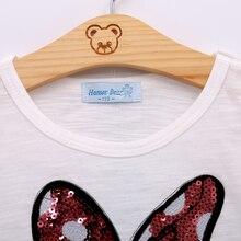 Humor Bear Baby Girls Clothes Kids Set Fashion Bow Short Sleeve T-Shirt +Pant Baby Girls Clothing Set Kids Cartoon Clothes Set