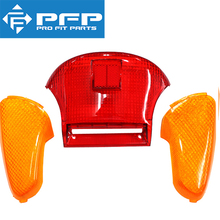 Motorcycle Scooter Taillight Brake light Plastic cover for SUZUKI Lets ZZ CA1PA CA1KA