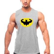 New Workout Tank Top Gym Tank Top Men's Summer Vest Top Fashion Vest Top Sleeveless Shirt Cotton Men Bodybuilding Clothes