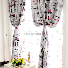 Free Shipping!High Quality British style curtain cloth window screening,Bedroom Decorative Curtains Set.