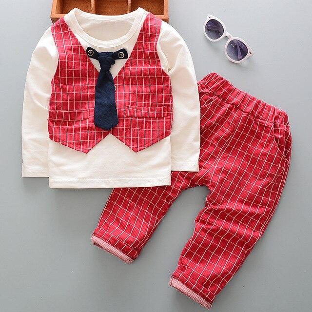 DIIMUU 2 STÜCK Kinder Baby kleidung Kinder Jungen Outfits Herren ...