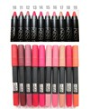 Moisture Waterproof kiss proof Long Lasting crayon lips matte Lipstick brand makeup pen lip balm pencil pomade RP2-5