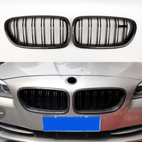 Hot Sale 2 Slat Caebon fiber Racing Grille for BMW 5 series F10 F11 F18 M5 Style Front Kidney Grill 550i 535i 528i 2010 +
