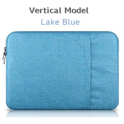 """Брендовый чехол aigreen для ноутбука 1"""", 13"""", 1"""", 15, 15,6 дюймов, сумка для Macbook Air Pro 13,3"""", 15,"""", Прямая поставка - Цвет: Vertical Lake Blue"""