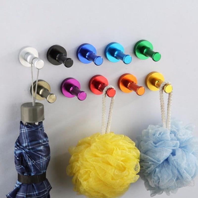 Space-Aluminum-Robe-Hooks-Home-decoration-Single-Hook-Single-Hat-Coat-Robe-Door-Wall-Hook-Hanger