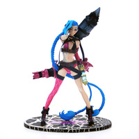 LOL Jinx Lolita PVC Action Figure High Quality Kids Toy Online Game Collection Doll Gifts Box
