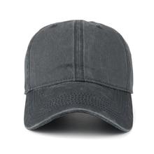 Pre-washed Cotton Denim Baseball Cap