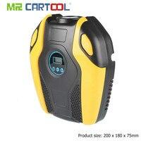 MR CARTOOL Digital Display Portable 12V Car Electric Air Compressor 150PSI Tire Inflator Pump Car Repair Tool Accessories Parts