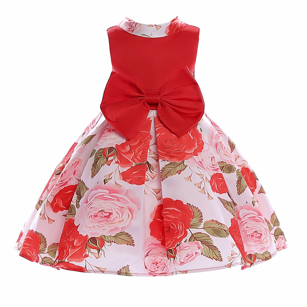 Baby Girl Christmas Dress Children Wedding Birthday Party Dresses Kids Evening Ball Gown Baby Clothes for Girl 6 8 10 Years girls ball gown lace flowers girl white dress for prom princess dresses for wedding birthday party kids clothes floral evening