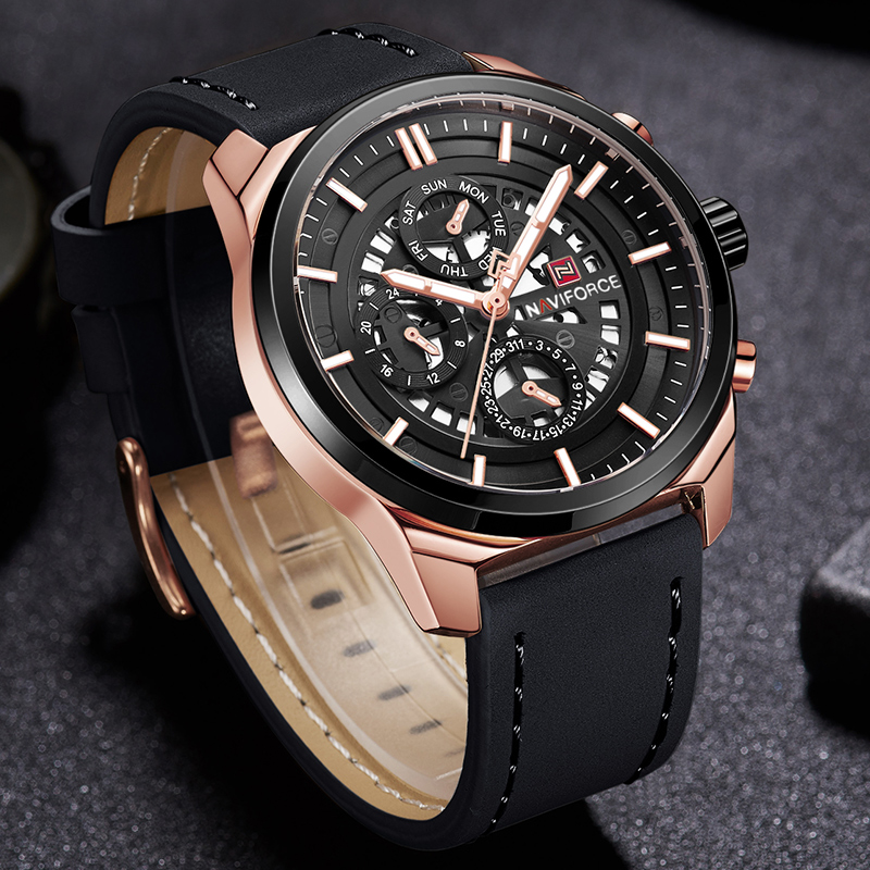 купить NAVIFORCE Men Sports Waterproof Watches Luxury Top Brand Quartz Wrist Watch Men's 24 Hour Quartz Clock Male Relogio Masculino по цене 1903.25 рублей