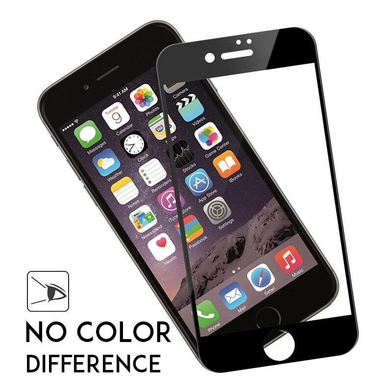 <font><b>For</b></font> <font><b>iphone</b></font> X 9H Colorful Full Cover Tempered <font><b>Glasses</b></font> <font><b>For</b></font> <font><b>iPhone</b></font> X <font><b>5</b></font> SE 5C 5S 6 6S Plus 6Plus 6SPlus 7 8 Plus Screen Protector