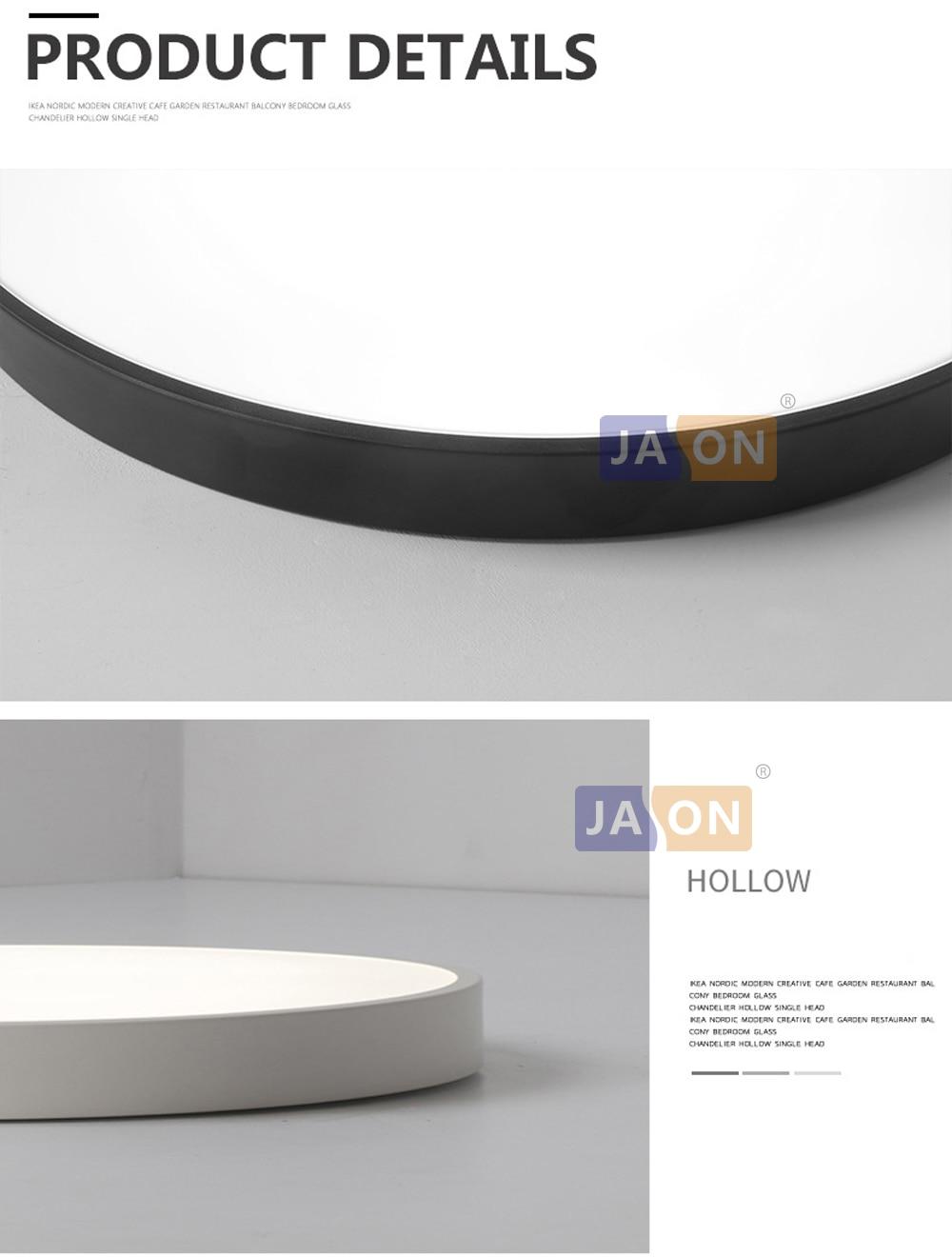 HTB16o96jgLD8KJjSszeq6yGRpXaE LED Modern Acryl Alloy Round 5cm Super Thin LED Lamp.LED Light.Ceiling Lights.LED Ceiling Light.Ceiling Lamp For Foyer Bedroom