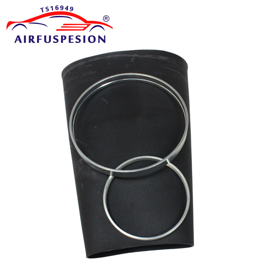 For Audi Q7 Rear Pillow Rubber Sleeve Air Bellow Sleeve With Rings Air Suspension Repair Kit Bladder 7L8616503B 7L6616503B|Shock Absorber Parts| |  - title=