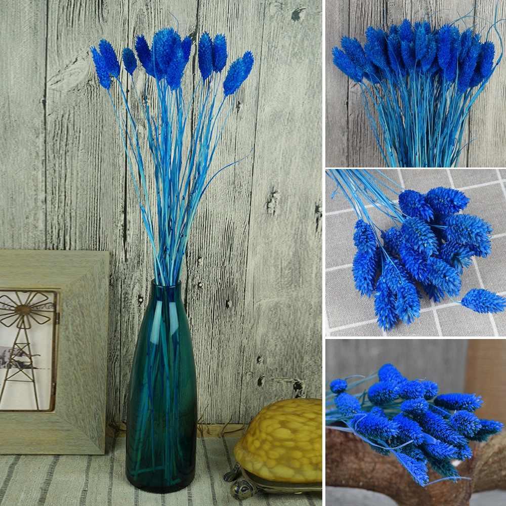 Mücevher Çim Kuru Çiçek Buketi DIY Ev Dekorasyon Ebedi Çiçek Çiçek Fotoğraf Sahne Kurutulmuş Buğday Dekor Doğal Bitki Kuru