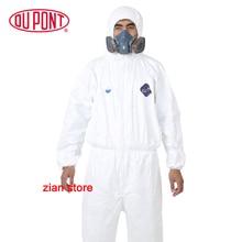 1422A Dupont Tyvek защитная одежда одноразовая Антистатическая химическая рабочая одежда против пыли