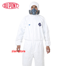 1422A Dupont Tyvek Protective Clothing Coverall Disposable Antistatic non-linting  chemical work clothes anti dust splash