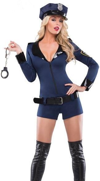 Сексуальные девушки в полиции