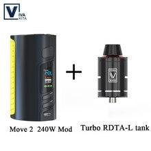 Gift RDA TANK 240W Battery Mod vape Electronic cigarette MOV
