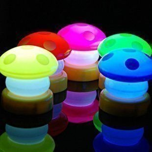 Free Shipping wiht EMS 20pc/lotSmall mushroom bed bedroom clap lamp LED Light!/fashion led light!