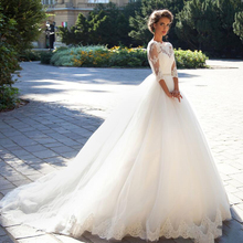 NOBLE BRIDE Wedding Dresses 2019 Ball Gown Bridal Gowns