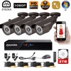 Eyedea Surveillance DVR 8CH Video Recorder 1080P 2 0MP 5500TVL Outdoor Night Vision CCTV Security 4