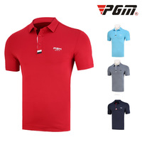 GOLF Apparel Summer Men Wear Short sleeved Training T shirt Soft Comfortable Male Sports Clothing High Quality Breathable Cotton