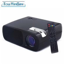 TouYinger BL20 LED Projector 2600 Lumen Home Theater Support Full HD video Projector With USB HDMI