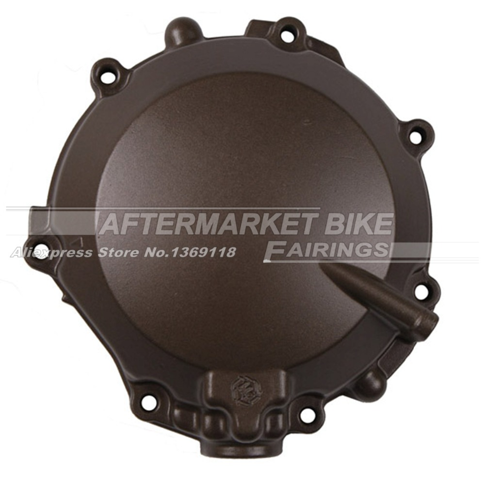 Motorcycle LEFT Crankcase For Kawasaki ZX12R ZX 12R 2000 2001 Engine Stator Crank Case Generator Cover