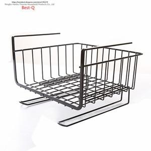 Image 5 - Étagère de rangement pour placard, panier suspendu multicouche, armoire de cuisine pour le dortoir
