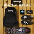 Thrasher Harajuku style skateboard fashion men & women backpacks shoulder bag schoolbag computer bag camouflage sports backpack
