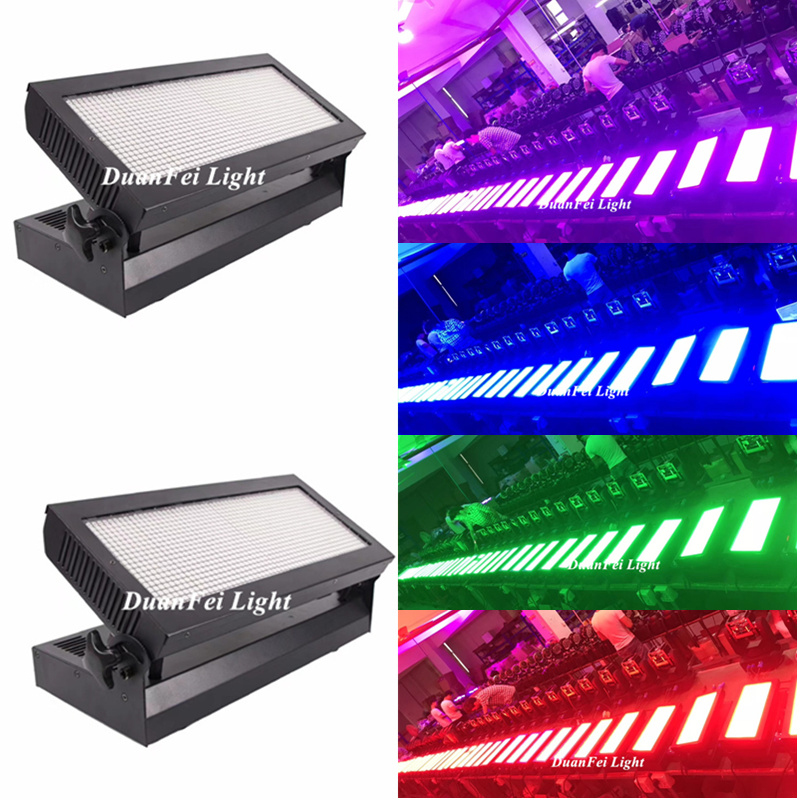 20pcs Hi Bright Powercon In/out Led Strobe 1080x200mw Smd Rgb 3 In 1 Led Dmx Strobe Light Led Wash Wall Effect For Wedding Party Commercial Lighting