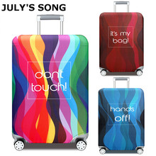 Travel Suitcase Case Cover Travel Accessories 18-32 Inch Elastic Luggage Covers Trolley Case Dust Protective Cover hot fashion traveling on the road suitcase case protective case cover trolley bus case trip suitcase dust cover for 18 to 32 inc