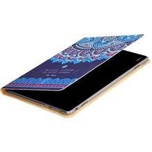 ocube 50pcs Happy Panda Cat Garden Painted PU Leather Case Cover For Huawei MediaPad M3 Lite 10 BAH-W09 BAH-AL00 10.1″Tablet