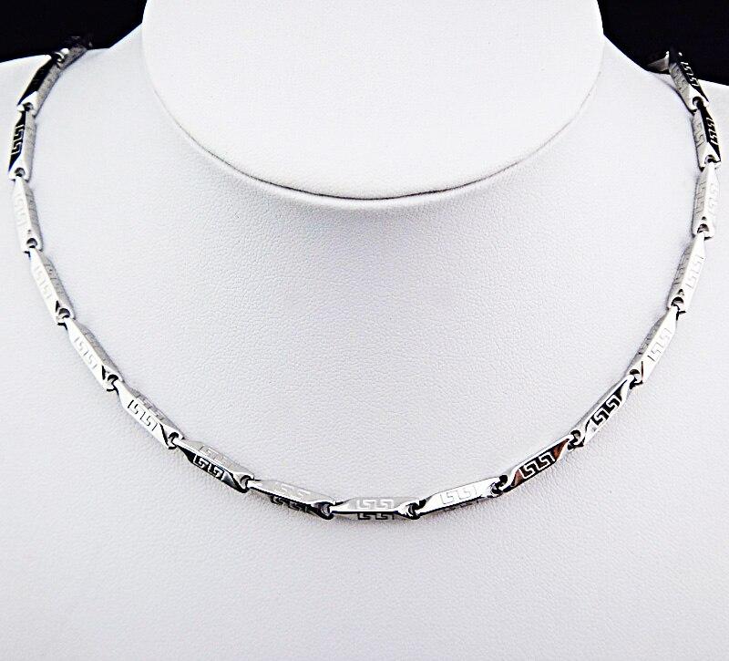 Горячая Распродажа шармы 316L нержавеющая сталь женское мужское ожерелье для костюма модные золотые серебряные ювелирные изделия A-816 - Окраска металла: D