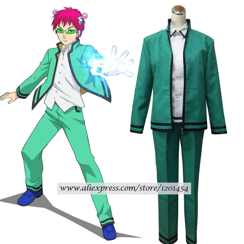 The Disastrous Life of Saiki Kusuo no Psi Nan School Uniform Cosplay Costume