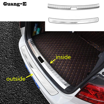 For VW Volkswagen Golf7 Golf 7 2014 2015 2016 2017 inside/outside Rear Bumper tailgate pedal Strip trim plate threshold moulding