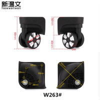 Replacement Trolley Case Luggage Wheel Repair Universal Travel Suitcase Parts Accessories Luggage Wheels W263#