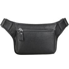 Men's Waist Bag Genuine Leather Cowhide Travel Cell/Mobile Phone Hip Bum Belt Pouch Male Fanny Pack Waist Purse Bags for Support aireebay waist pack for men women fanny pack big bum bag hip money belt travel bags mobile large capacity 2019 male phone bag