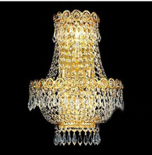 Modern Crystal Wall Lamp Chrome Wall Sconce Bedside Living Room Wall Light Lamp Guaranteed 100%+Free shipping!