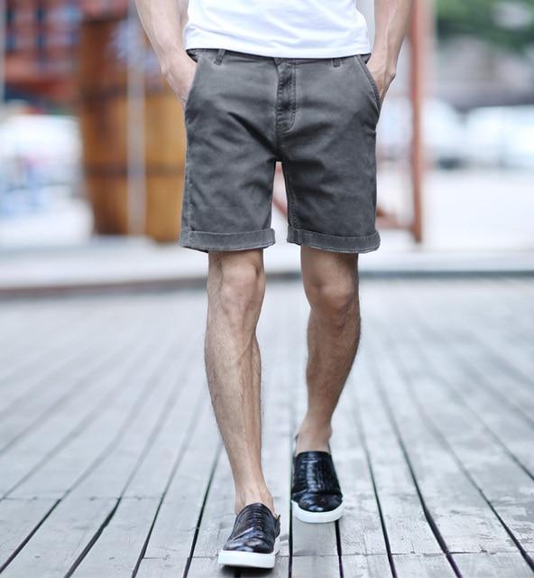 8843592822 Shorts Men 2016 Summer retro Mens Shorts Casual Cotton Slim Bermuda  Masculina Beach Shorts Joggers Trousers