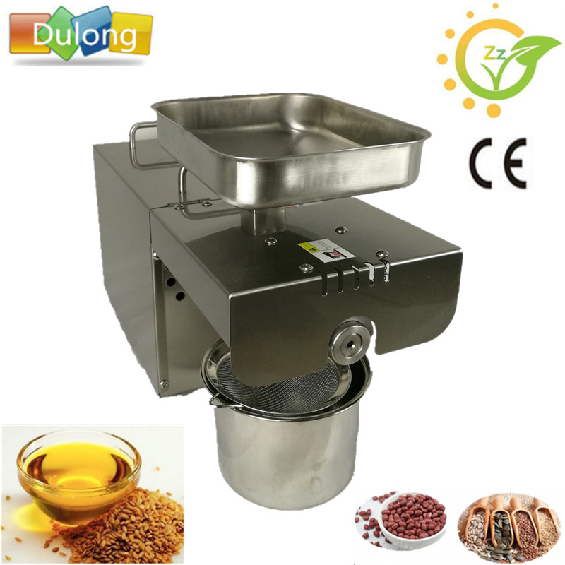 New products 2017 innovative product high oil yield home use sesame sunflower seed oil press machine for sale