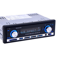 Newest Auto Car MP3 Player Bluetooth Car FM Stereo Radio Built In Microphone Support Hands Free