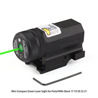 Mini Compact Green Laser Sight for Pistol Rifle 17 19 20 23 21