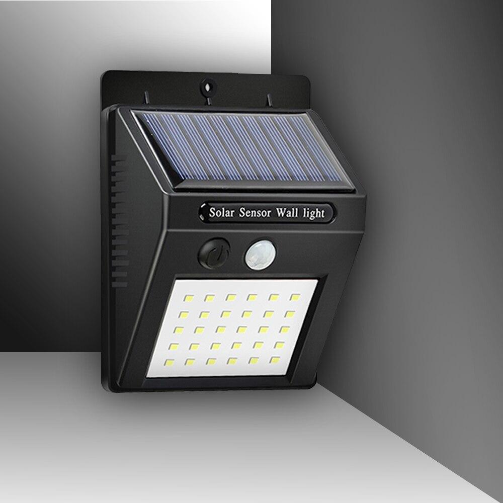 Wall lamp street LED Solar Light house Motion induction lamp Sensor Outdoor Garden waterproof Light rechargeable Battery lamp
