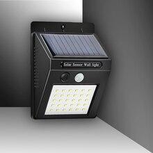 Настенный светильник уличный светодиодный Солнечный свет дома движения светильник индукции Сенсор открытый сад водонепроницаемый свет аккумуляторная лампа